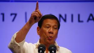 Menschenrechtler kritisieren Trumps Einladung an Duterte