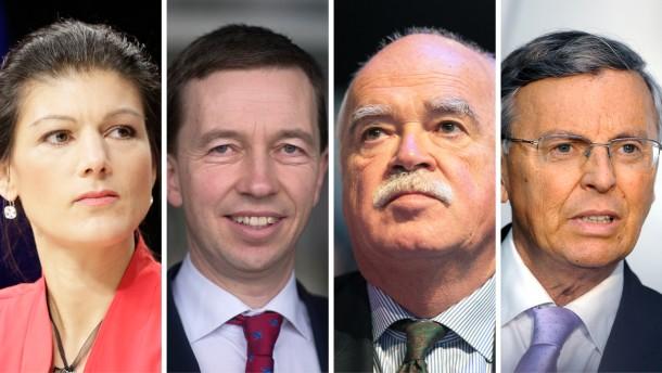 Der Rückzug der Euro-Skeptiker