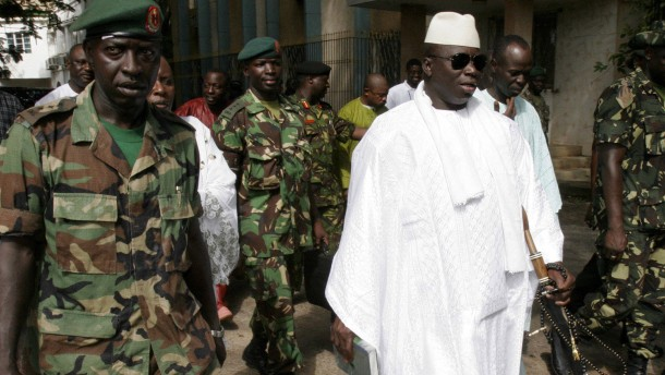 Militärputsch in Gambia vereitelt