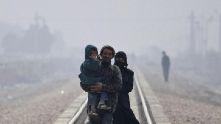 Eine Waffe? Flüchtlinge im Irak