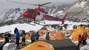 Rettung der Bergsteiger läuft an