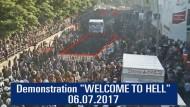 So erlebte die Polizei die Eskalation in Hamburg