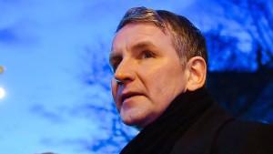 Polizei durchsucht Wohnhaus von Björn Höcke