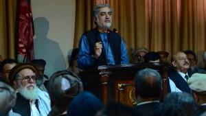 Abdullah lehnt Wahlergebnis ab