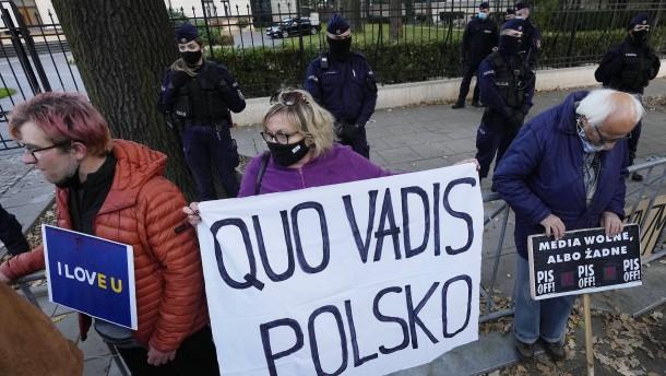Polen wählt die Konfrontation