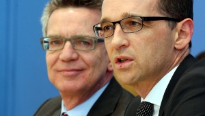 De Maizière und Maas einigen sich auf Gesetzesverschärfungen