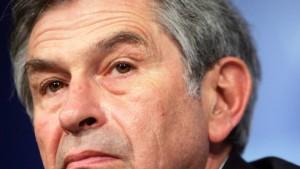 Wolfowitz tritt zurück