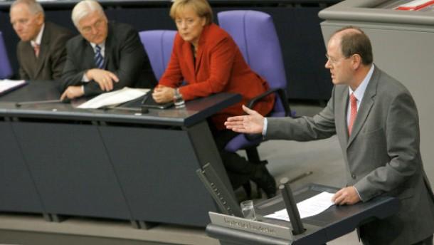 Merkel und Steinbrück legen Vorschläge vor