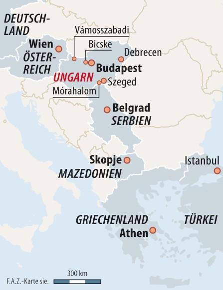Grune Karte Mazedonien.Bilderstrecke Zu Fluchtlinge In Ungarn Uber Die Grune