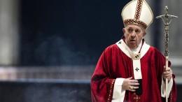 Päpstliche Weichenstellung im Vatikan