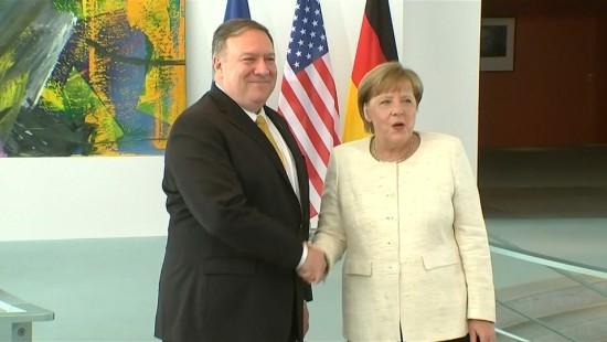 Außenminister Pompeo zu Gespräch mit Merkel