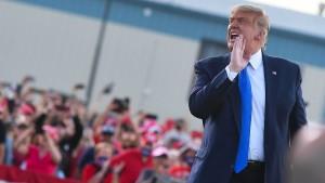 Trump verlangt Wahlhilfe von der Justiz