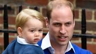 Prinz William spricht über Vatergefühle