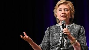 Hillary Clinton schließt Kandidatur aus