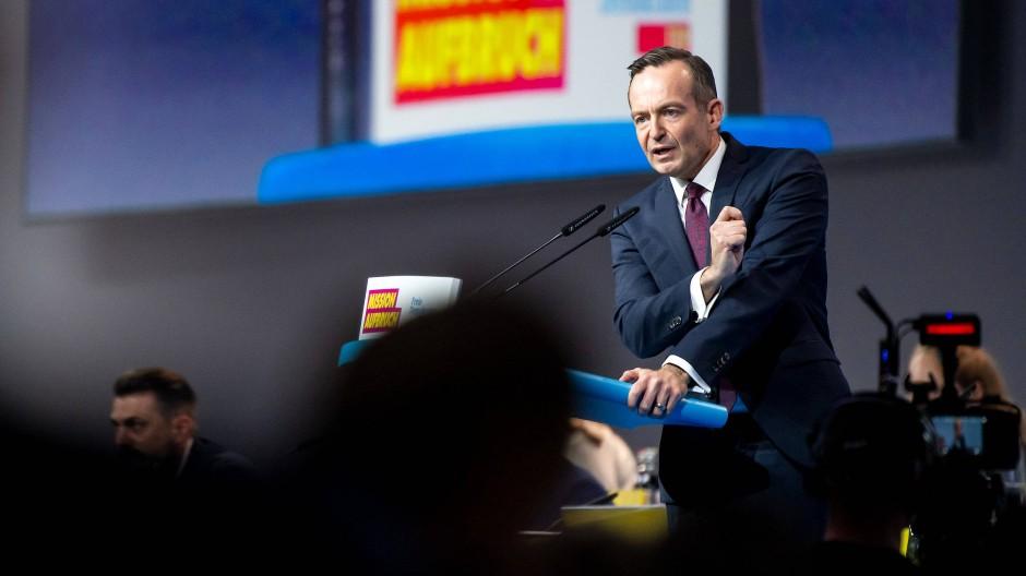 Volker Wissing auf dem Bundesparteitag der FDP