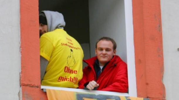 Studenten besetzen Jürgen Walters SPD-Wahlkreisbüro