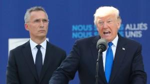 Trump kündigt Verfolgung undichter Stellen an