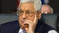 Präsident Mahmud Abbas