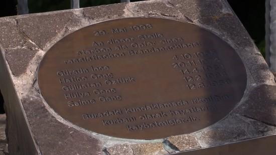 Gedenken an die Opfer des Brandanschlages vor 25 Jahren