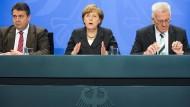 Schwarz-grünes Bündnis deutlich beliebter als große Koalition