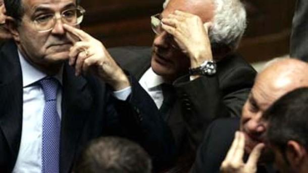 Fehlstart für Romano Prodi