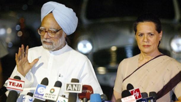 Nach Gandhis Verzicht wird Singh Regierungschef