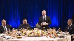 Putin: Nordkorea braucht internationale Sicherheitsgarantien