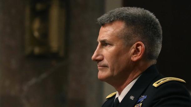 John Nicholson ist neuer Nato-Oberbefehlshaber in Afghanistan