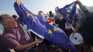 Brexit-Anhänger im Aufwind