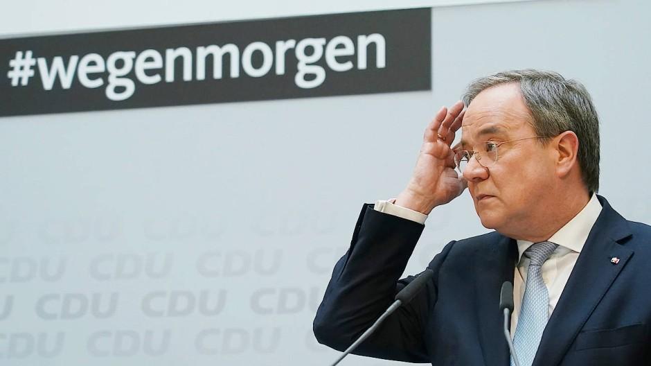 Armin Laschet (CDU) am Montag in Berlin