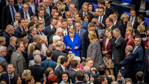 F.A.Z. exklusiv: Bundestags-Verkleinerung in weiter Ferne
