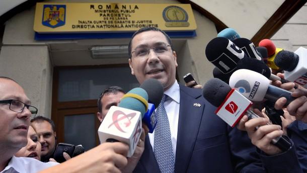 Ministerpräsident Ponta in Korruptionsaffäre verwickelt