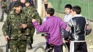 Internationale Truppen versuchen im Kosovo für Ruhe zu sorgen
