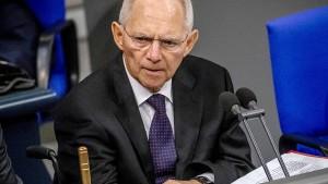 Schäuble mahnt konsensfähige AfD-Kandidaten an