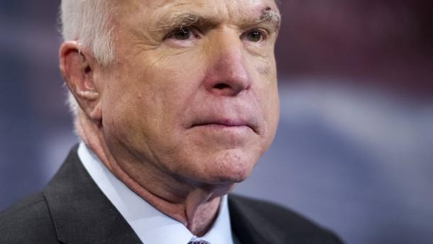 John McCains Lektion für Donald Trump
