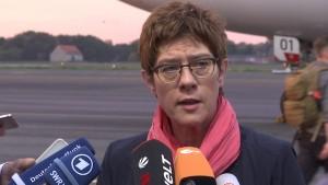 """""""Bundeswehr leistet im Irak wichtigen Beitrag"""""""