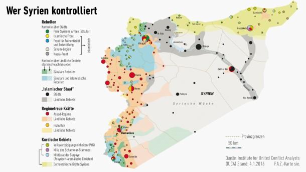 Syrien nach fünf Jahren Krieg
