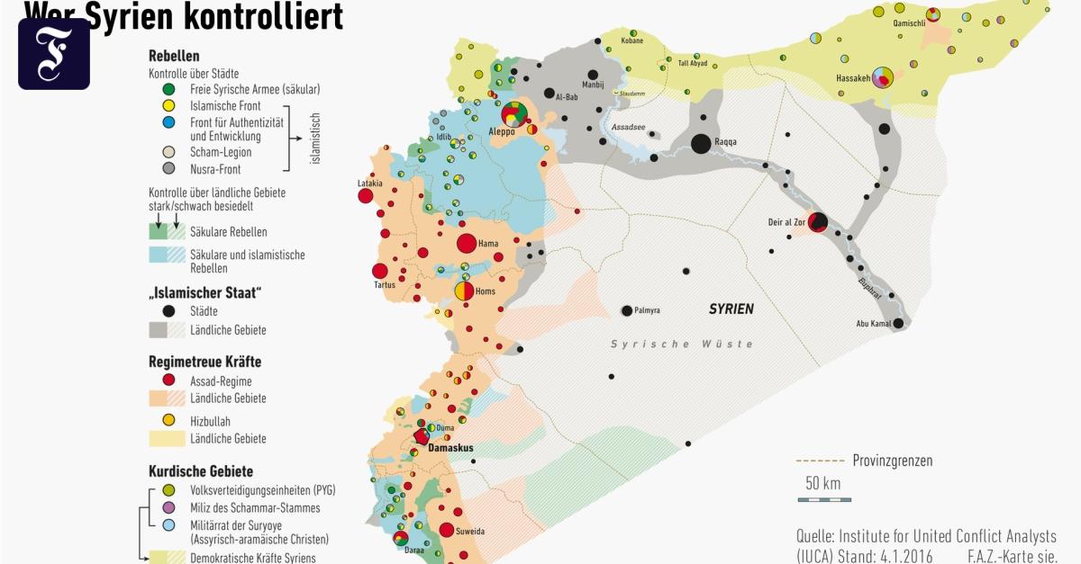 Syrien Karte 2016.Lage In Syrien Nach Funf Jahren Burgerkrieg Unubersichtlich