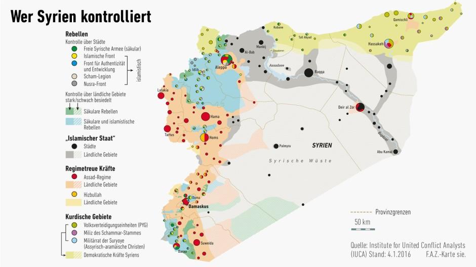 Syrien Karte Mit Städten.Wozu Wladimir Putin Und Assad In Syrien Imstande Sind