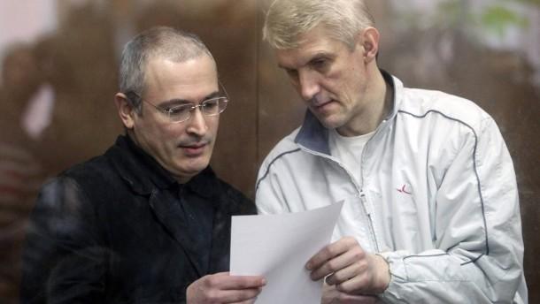 Lebedjew: Freilassung zweiter Klasse