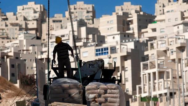 nahost konflikt israel errichtet 1500 weitere wohnungen naher osten faz. Black Bedroom Furniture Sets. Home Design Ideas