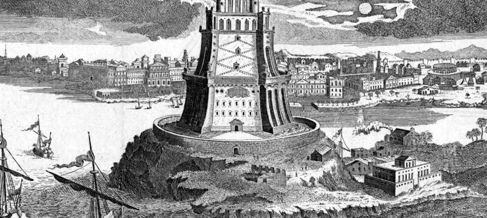 ägypten Der Leuchtturm Von Alexandria Ersteht Wieder Gesellschaft
