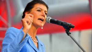Sahra Wagenknecht darf in der Linken bleiben
