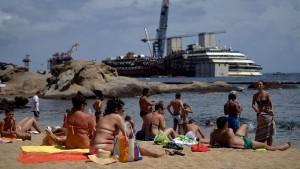 Die Costa Concordia soll in Genua verschrottet werden
