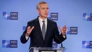 Nato: Iran sollte sich zurückhalten