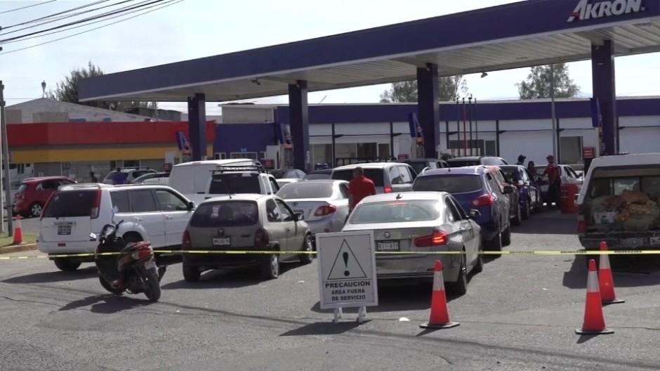 Kraftstoff-Engpässe gegen die Kriminalität