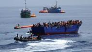 Österreich will Mittelmeer-Route schließen