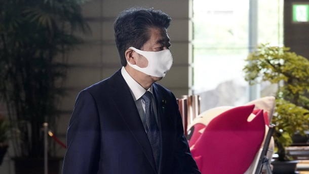 Japans Ministerpräsident Shinzo Abe tritt zurück