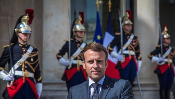 Läuft wieder für Macron
