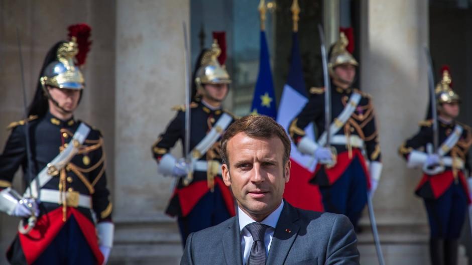 Wieder beliebter: Frankreichs Präsident Emmanuel Macron